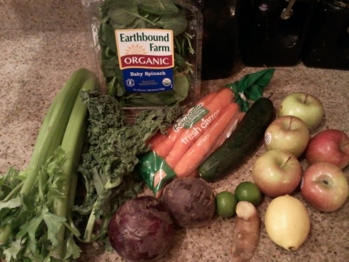 Juicing Pack 1/12/2013