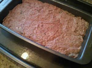 Water Bath for Gyros Meatloaf