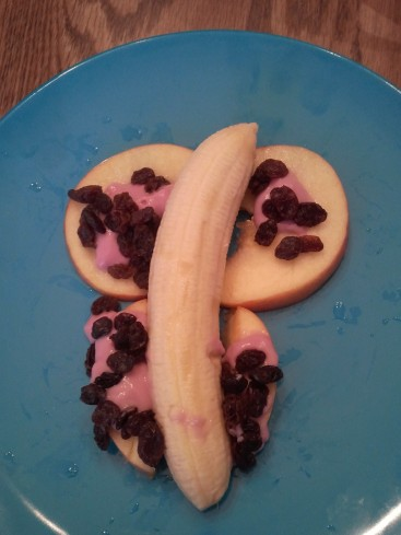 Fruit Butterfly Snack