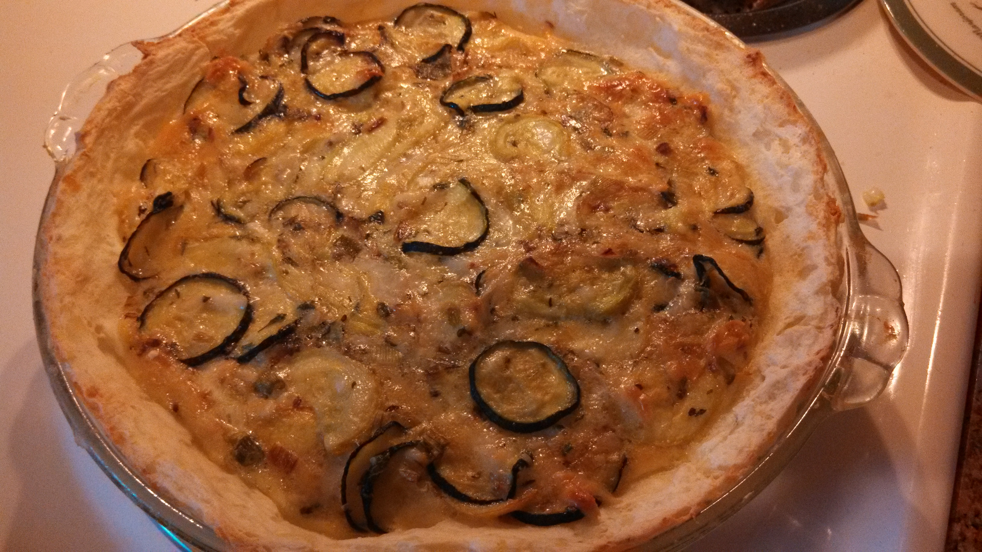 ... Yellow Squash Quiche with Mashed Potato Crust | My Gems of Parenting