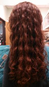 My hair before