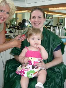 K's First Haircut July 2007