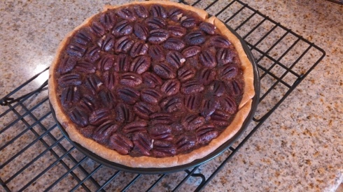 Pecan Pie - fully baked