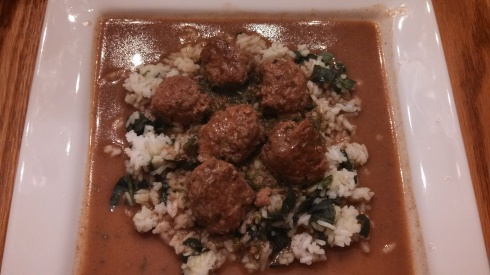 Meatballs with Creamy Dill Sauce