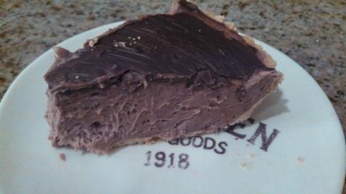 No-Bake Chocolate and Mint Cheesecake