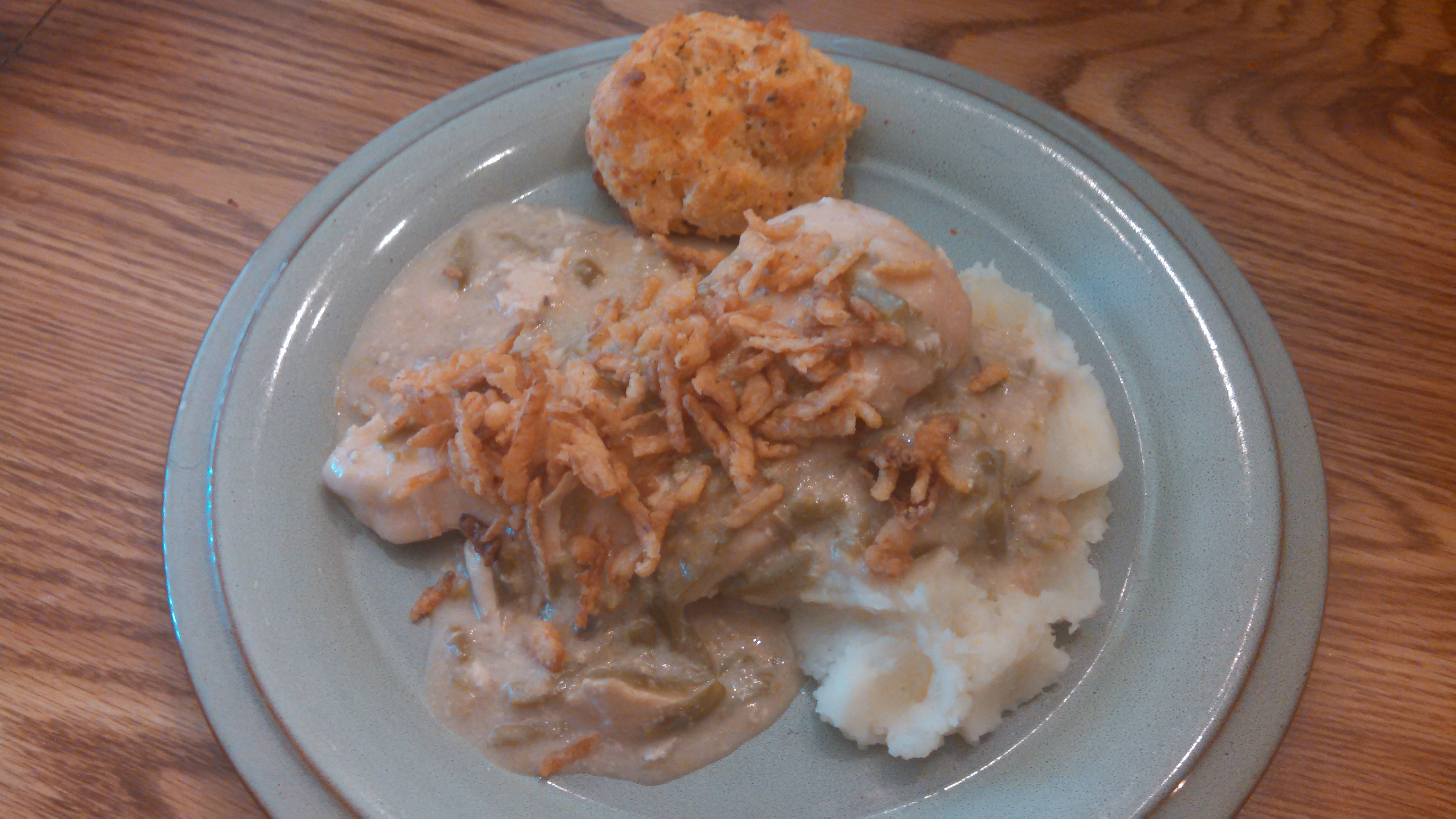 Slow Cooker Chicken and Green Bean Casserole | My Gems of Parenting