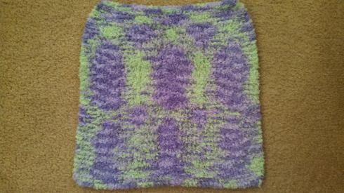 Lovey Blanket in Bernat Pipsqueak Pixie Pow