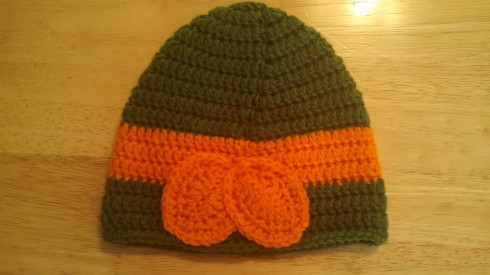 Back of Ninja Turtle Hat