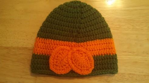Back of Ninja Turtle Hat