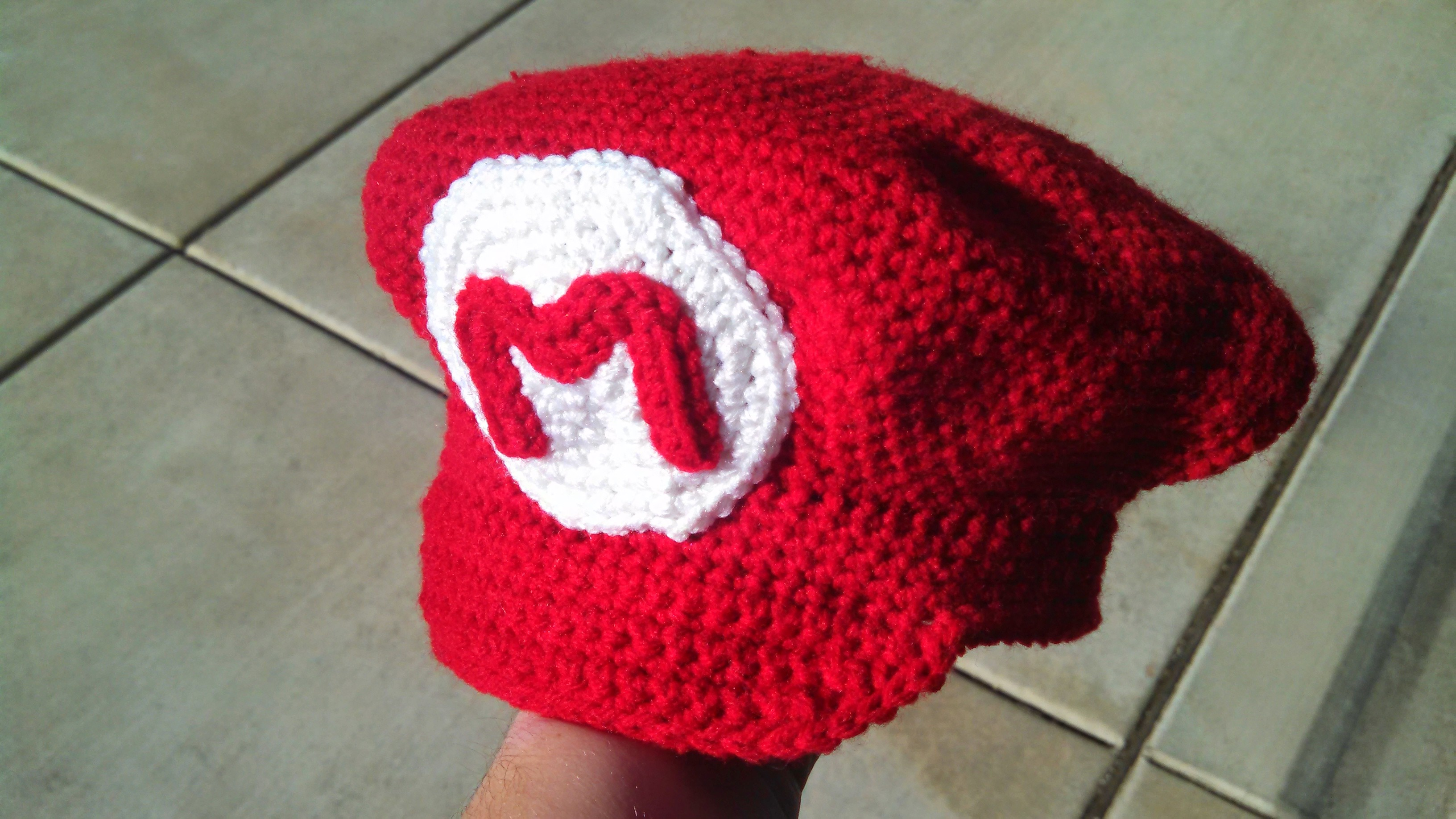 Crochet Mario and Luigi Hats  394d127c779