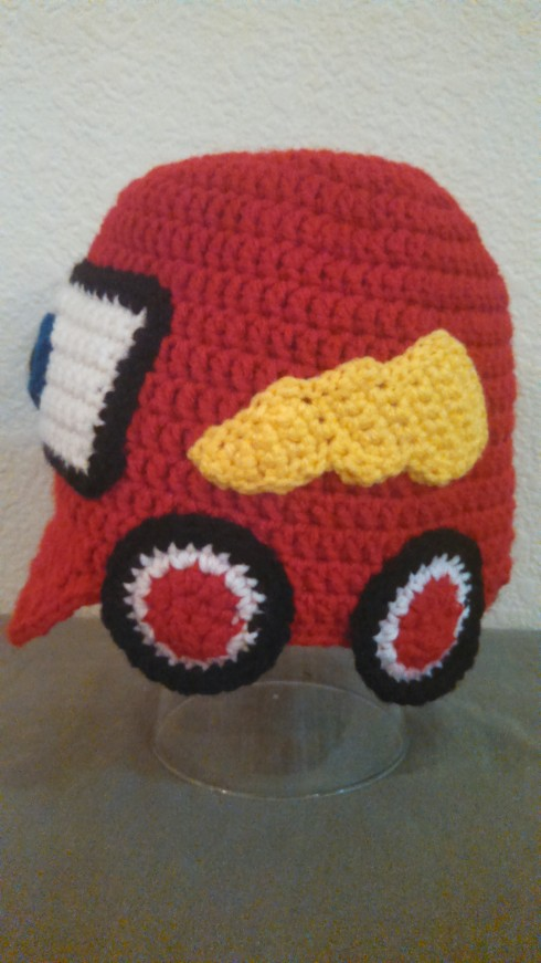 Lightning McQueen Beanie with Brim