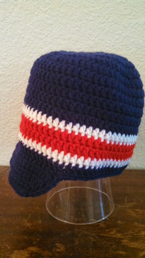 Crochet Beanie with Brim