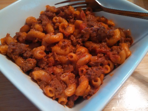 Skillet Chili Mac and Cheese