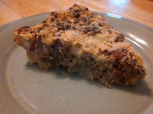Ground Beef & Potato Pie
